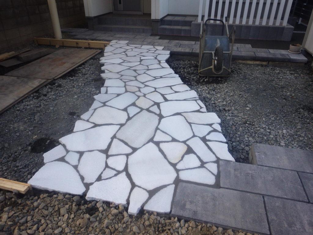札幌 外構 乱形