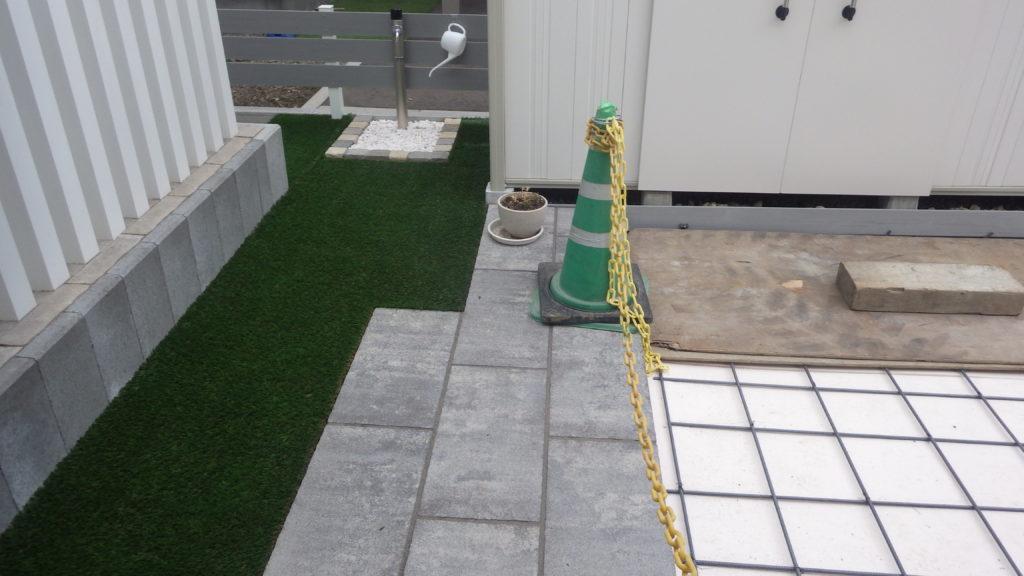 札幌 外構 人工芝
