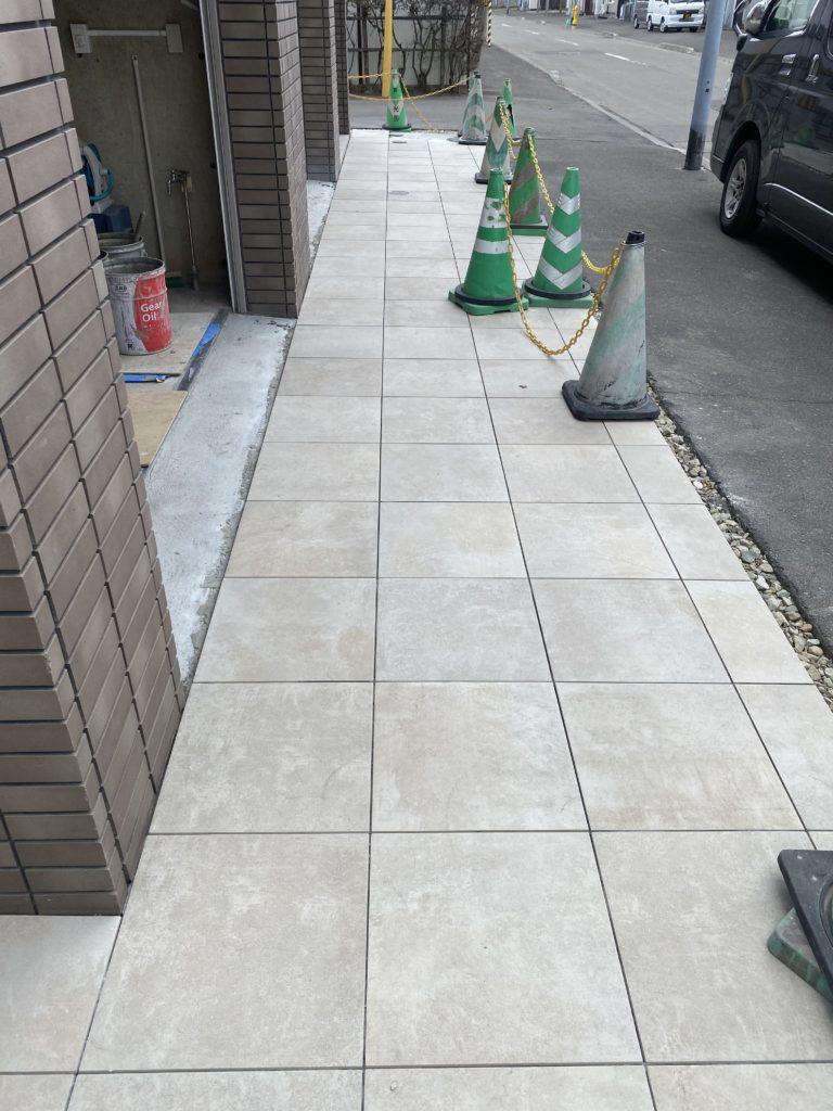 札幌 外構 タイル