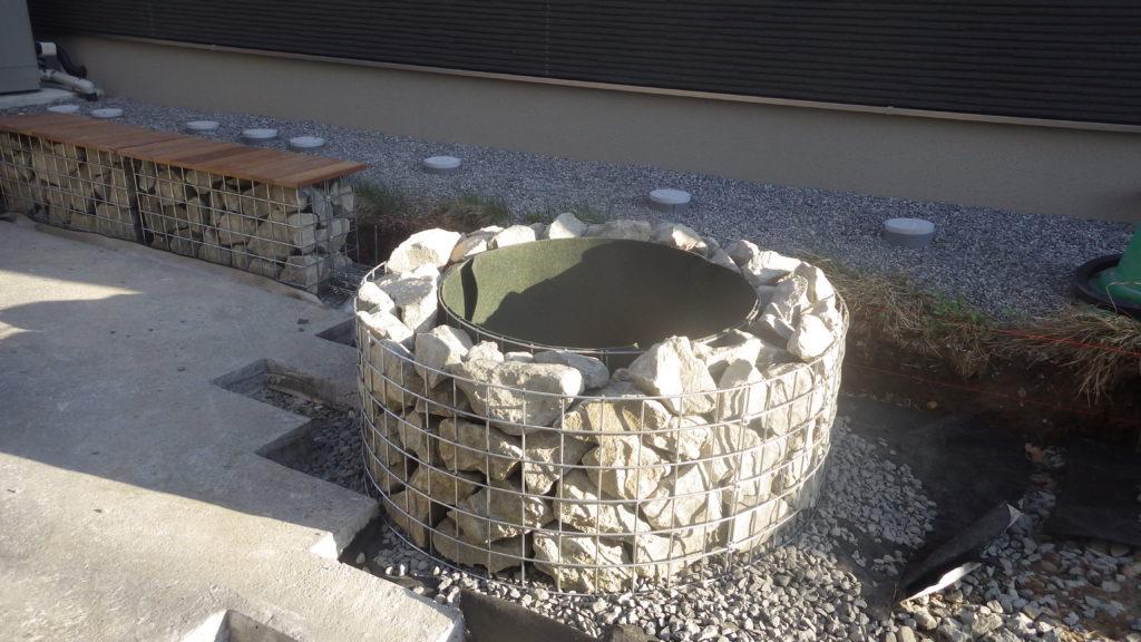 札幌 外構 植栽桝