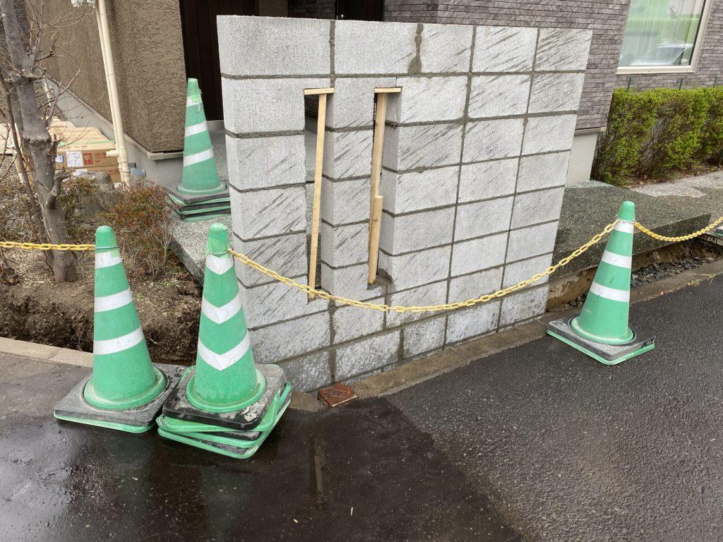 札幌 外構 ブロック