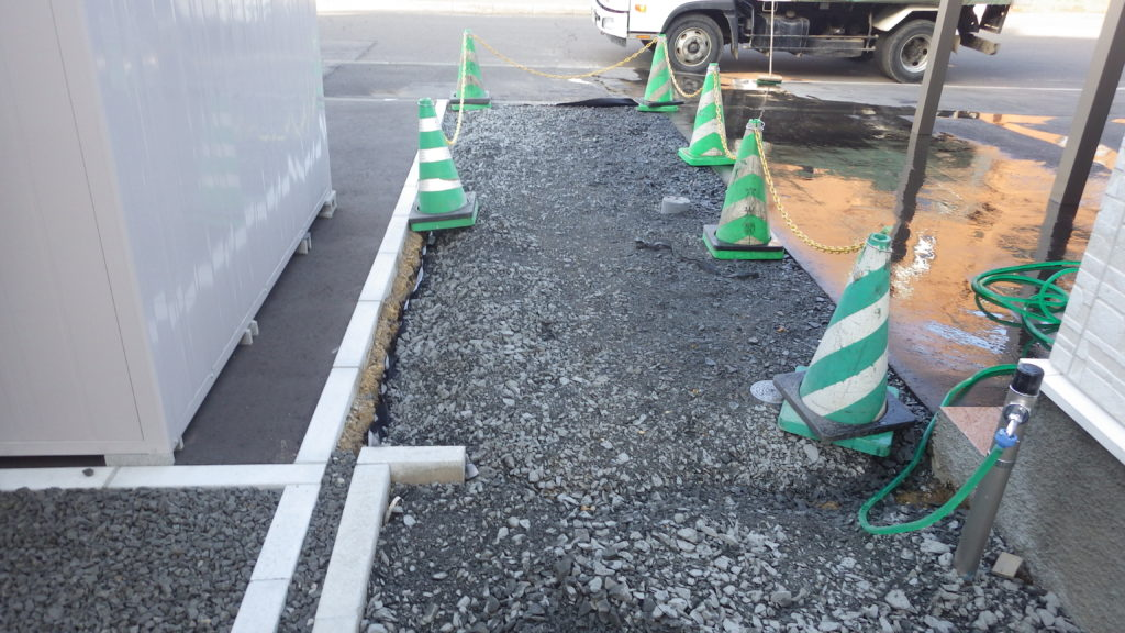 札幌 外構 砕石