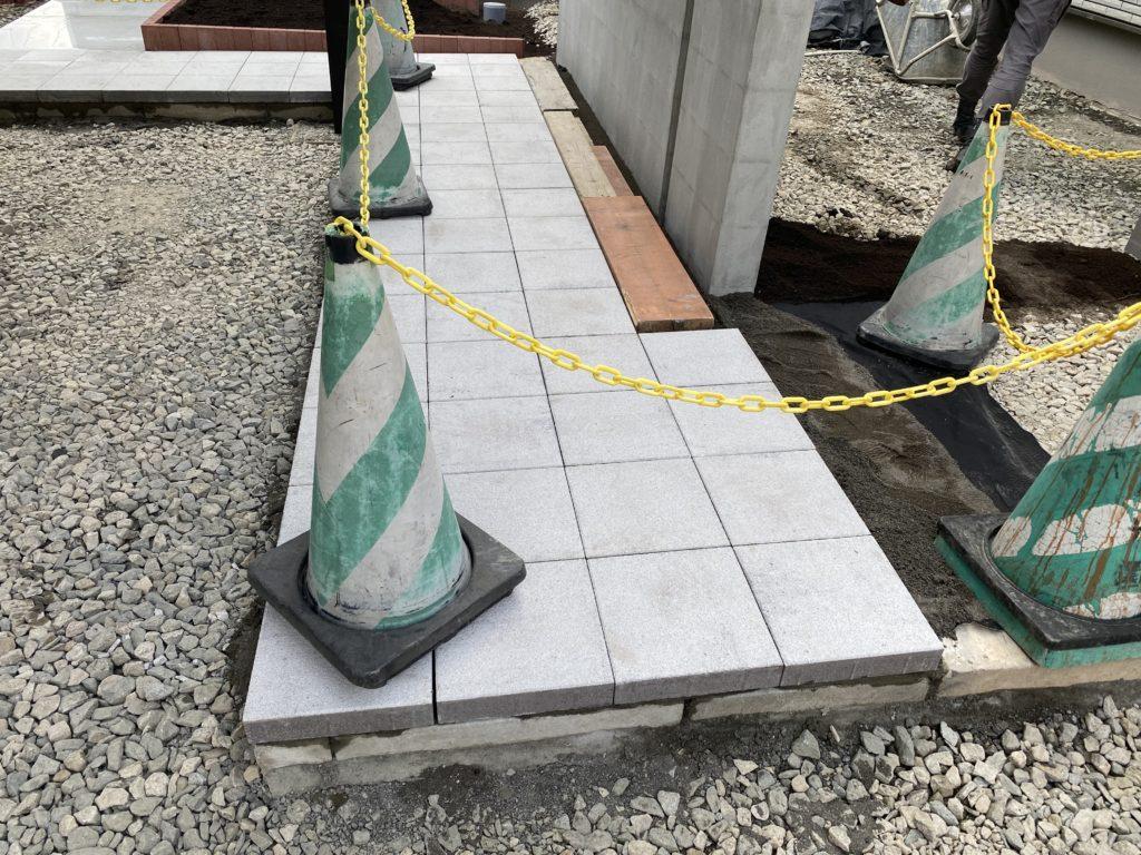札幌 外構 平板